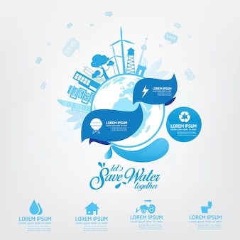 Economize a água água é vida