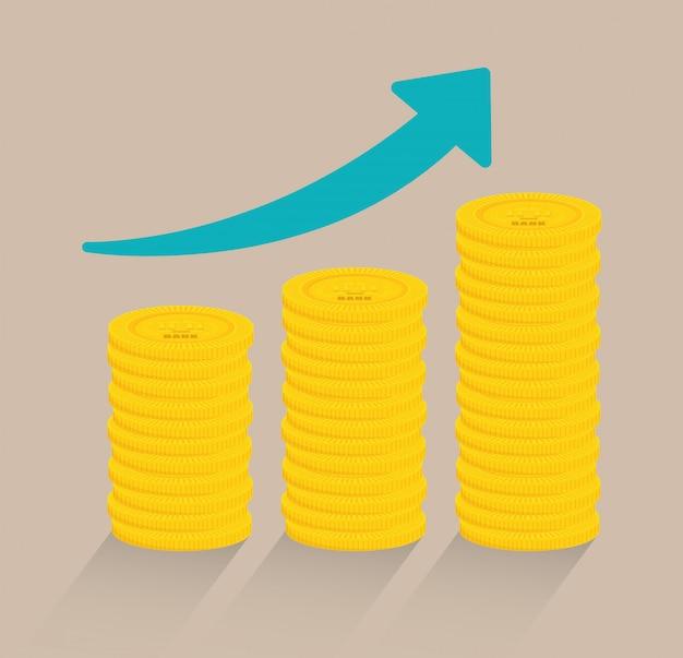 Economize dinheiro design.