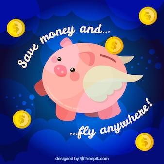 Economize fundo de dinheiro