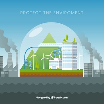 Ecossistema e design de poluição