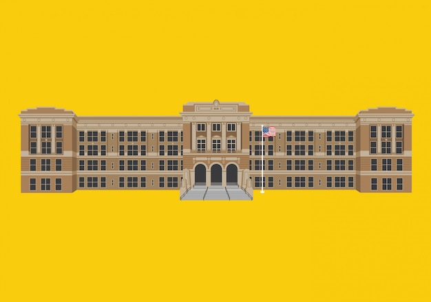 Edifício da escola secundária