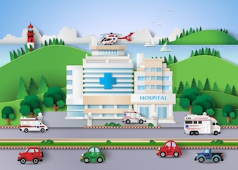 Edifício do hospital