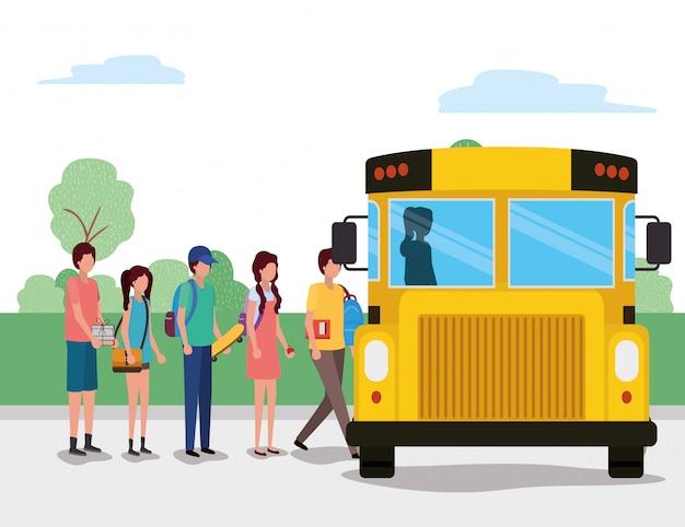 Edifício escolar, estudo de lição de educação aprendendo sala de aula e informações