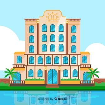 Edifício flat hotel