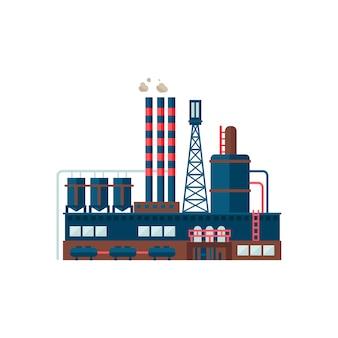 Edifício industrial da fábrica