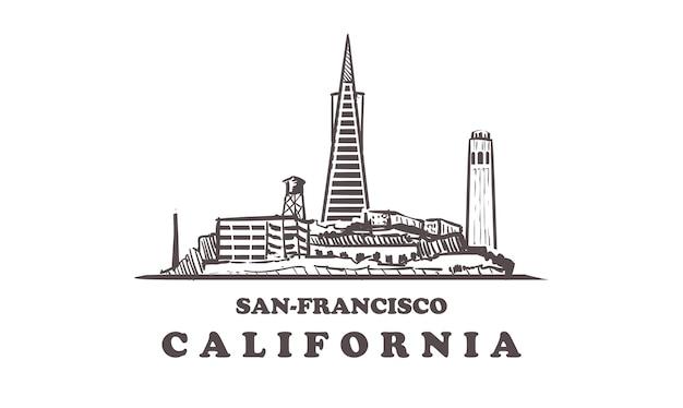 Edifícios da califórnia, são francisco
