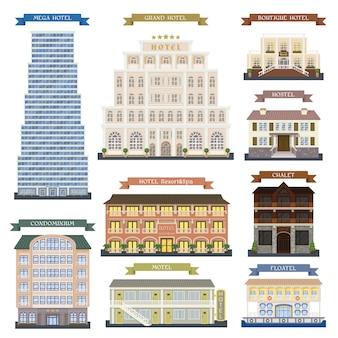 Edifícios do hotel