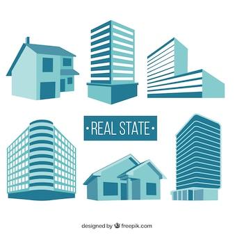 Edifícios estatais real