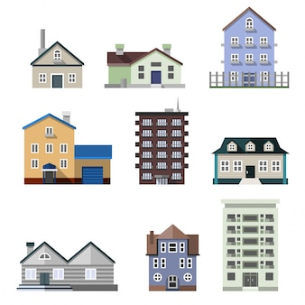 Edifícios habitacionais residenciais