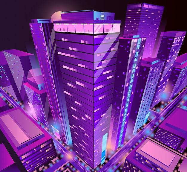 Edifícios modernos arranha-céus
