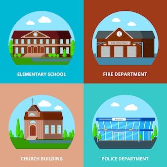 Edifícios municipais