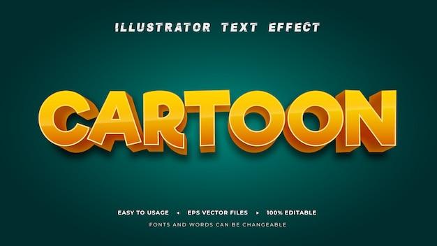 Editable_text_cartoon_style_effect