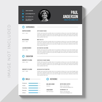 Editável cv format download