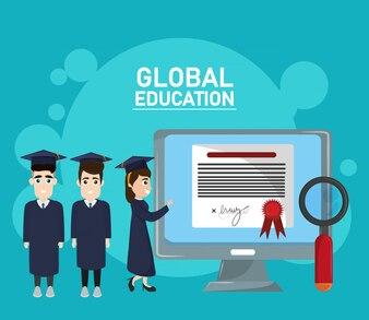 Educação a distância global