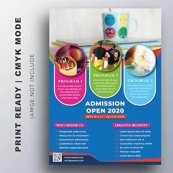 Educação, admissão