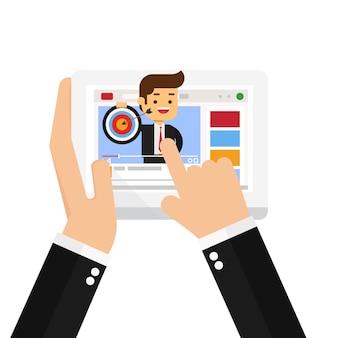 Educação de negócios on-line