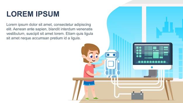 Educação de robôs de programação
