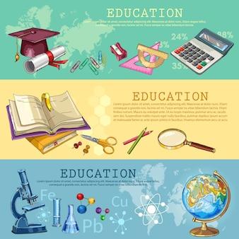 Educação. de volta à escola