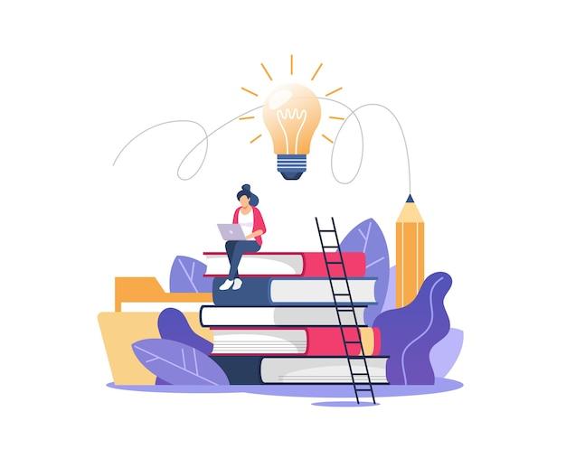 Educação online ou treinamento empresarial