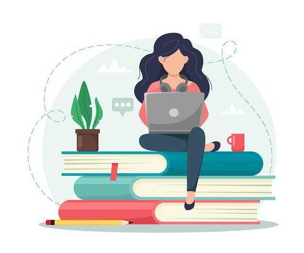 Educação online.
