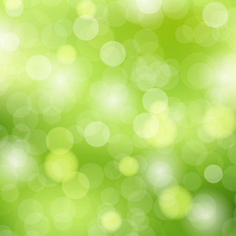 Efeito bokeh verde fundo