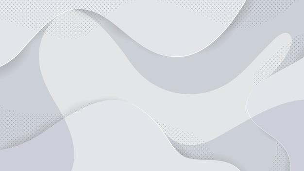 Efeito branco e memphis abstrato
