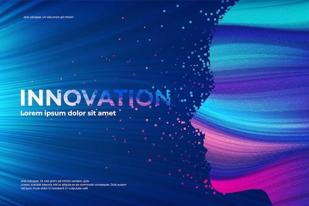 Efeito de desintegração do tema inovação