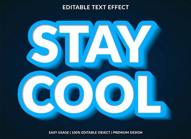 Efeito de estilo de texto 3d