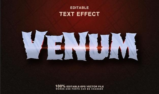 Efeito de estilo de texto de vírus monstro