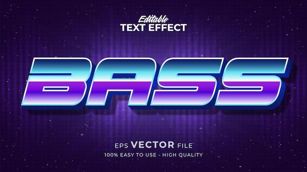 Efeito de estilo de texto editável - tema de estilo de texto musical