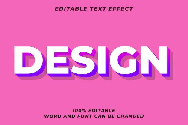 Efeito de estilo de texto gradiente
