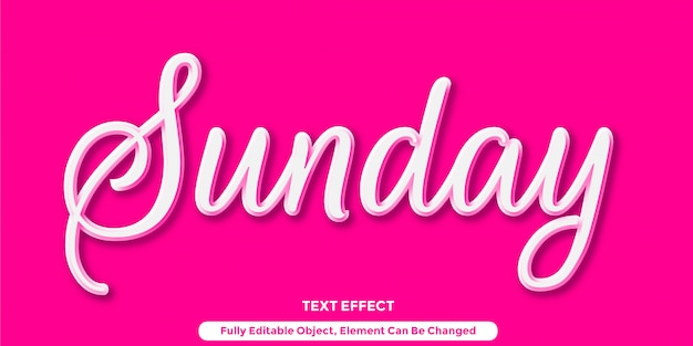 Efeito de estilo gráfico de texto 3d branco brilhante