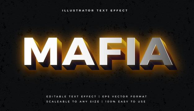 Efeito de fonte de estilo de texto prateado para jogos
