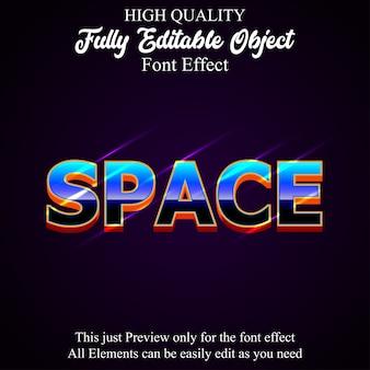 Efeito de fonte editável do estilo moderno texto em negrito
