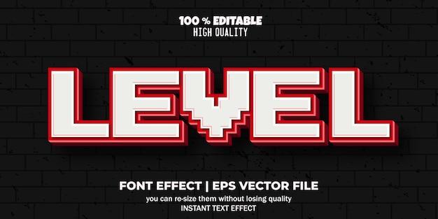 Efeito de fonte editável estilo de texto cintilante