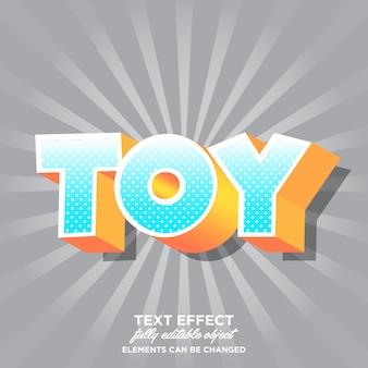 Efeito de fonte moderna dos desenhos animados para adesivo