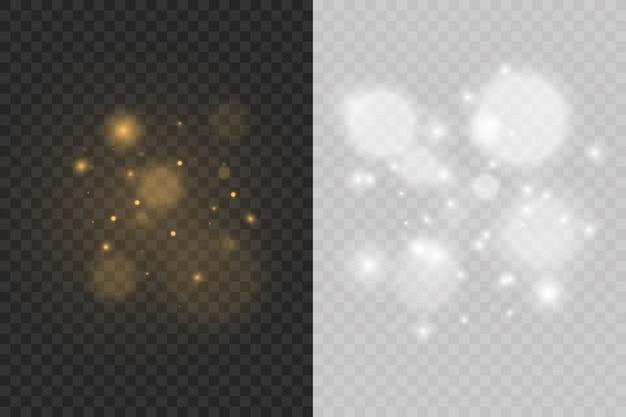 Efeito de luz bokeh