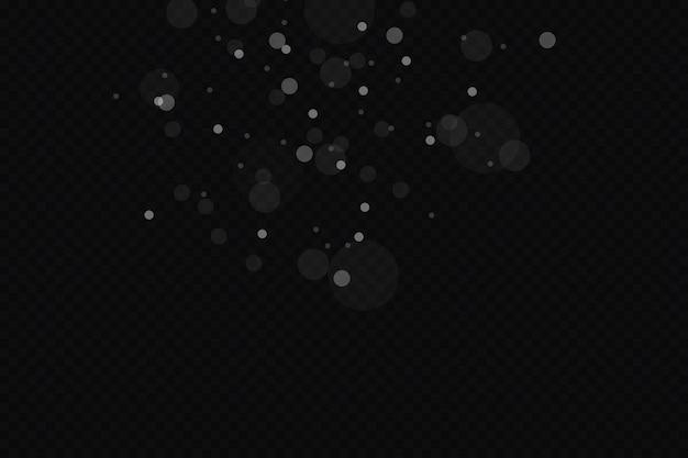 Efeito de luz brilhante ilustração vetorial pó de flash de natal