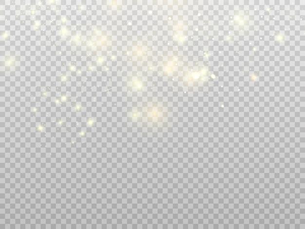 Efeito de luz de brilho. star explodiu com brilhos