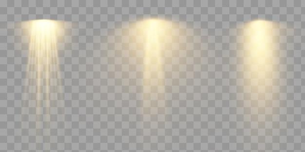 Efeito de luz. eps 10
