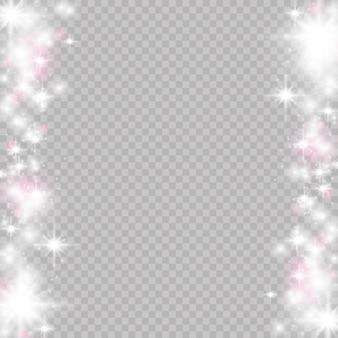 Efeito de luz mágica