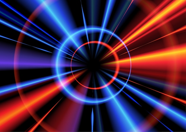 Efeito de luz radial