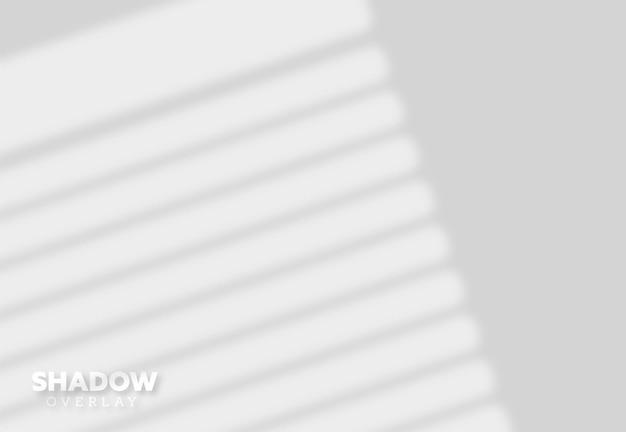 Efeito de sobreposição de sombra de janela