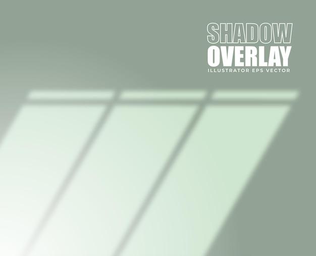 Efeito de sobreposição de sombra fundo da moldura da janela em cor pastel