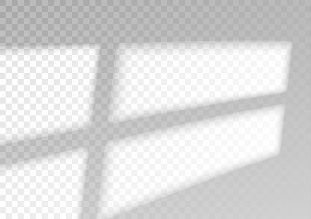 Efeito de sombra de sobreposição