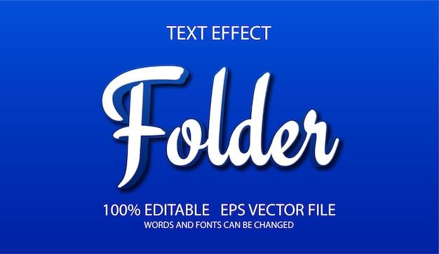Efeito de texto 3d clássico com fácil edição para todos os projetos