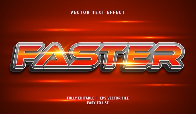 Efeito de texto 3d mais rápido, estilo de texto editável