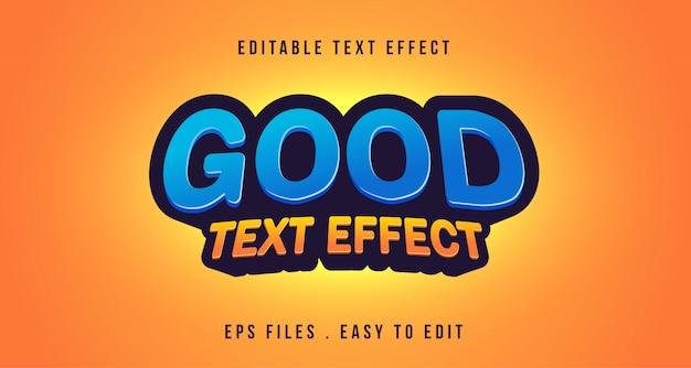 Efeito de texto 3d, texto editável