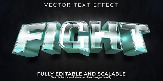 Efeito de texto de combate