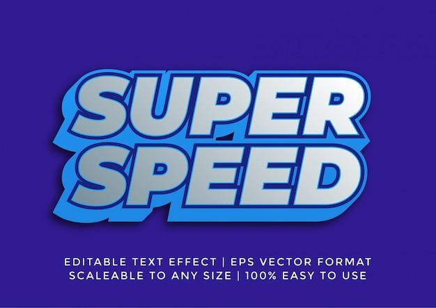 Efeito de texto de promoção digital 3d vibrante
